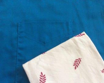 Cream pocket square, fall leaves pocket square, red leaves pocket square, matching accessories, grooms pocket sq, fall wedding