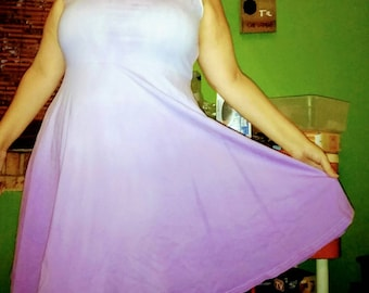 Purple ombre dress