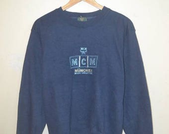 Vintage Modern Creation Munchen MCM Legere Sweatshirt