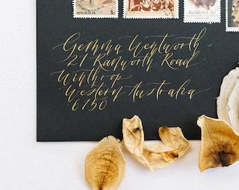 Envelope Calligraphy | Custom | Modern Calligraphy