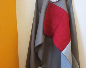 Multi Colored Wool Vest