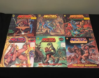 The Written Word: Masters Of The Universe Assorted Book Lot