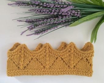 Crown - mustard