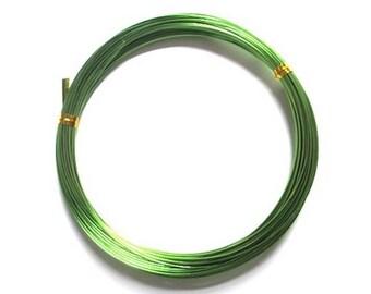 Aluminum 1 mm x 10 m light green for creations