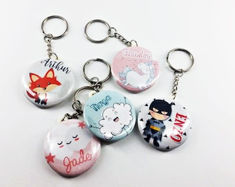 Keychain personalized with name choice