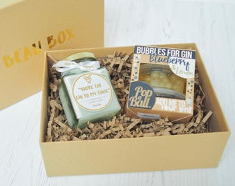 You're The Gin To My Tonic - Mini Gin Candle Gift Box - Gin Lover