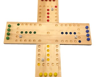 4 Player Aggravation Board (Wahoo) New design and sizes