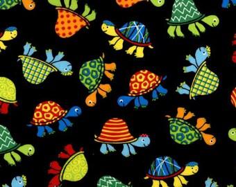 Turtles Fabric | Slow Poke Range