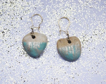 Marbled earrings