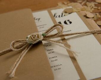 Wedding card Pocket