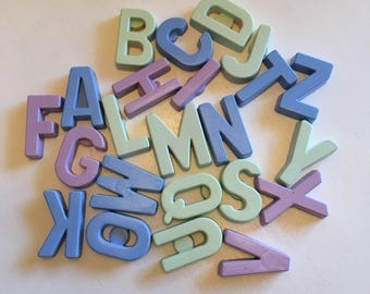 Individual Letters (Fridge Magnets)