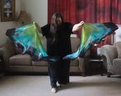 Prophetic - Silk Flag - Worship Flag - Praise Dance - Dyed Silk - Swing Flag - Regular Swing Wing Pair called See Me