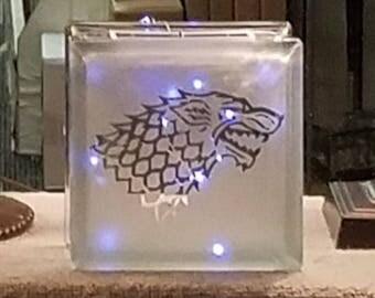 Stark Glass Cube