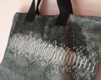Python Grey cotton Bag