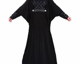 Butterfly Free Size Islamic Abaya