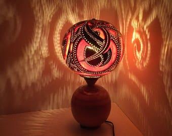 Gourd Night Light, Gourd Lamp, Table Lamp Modern, Unique Desk Lamps, Turkish Lamp Standing, Unique Table Lamps, Modern Lamp, Bedroom Lamps