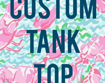 CUSTOM TANK TOP! Lets get creative!