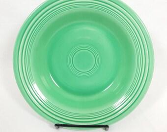 Vintage Fiesta Green Deep Plate #3