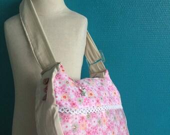 Miminou, pink shoulder bag for girl