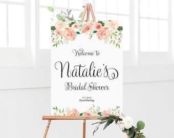 Bridal Shower sign, Bridal Shower Welcome Sign, Bridal Shower decoration, welcome wedding sign, Bridal shower banner, Shower sign