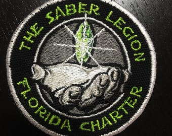 "3"" Saber Legion Florida Charter Patch"