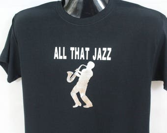 All that jazz men's t-shirt