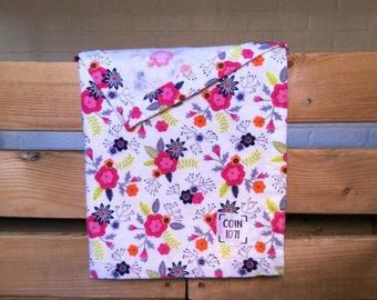 Summer garden / / single layer flannel baby blanket