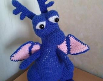 Plush dragon toy doctor