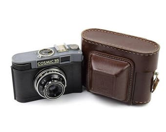 Limited time offer Gomz/Lomo Cosmic 35 Camera with T-43 40mm f/4 Lens c.1963-71