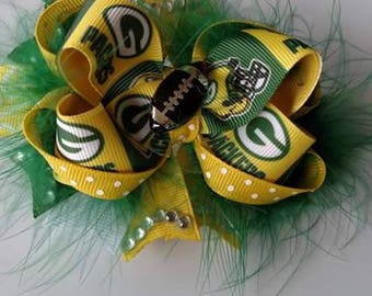 Greenbay Packers Boutique Bow