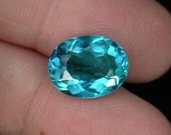 5.7 ctw. paraiba tourmaline loose gemstone.