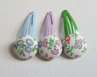 Liberty of London hair clips, baby hair accessories, Girls hair accessories, party bag fillers, gift for girls, birthday gift
