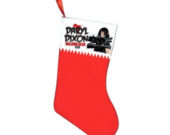 The Walking Dead Daryl Dixon Norman Reedus Christmas stocking