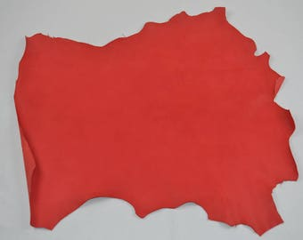 Red dipped sheep leather skin (9302866)