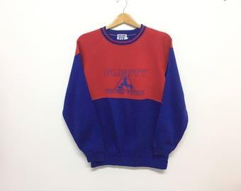 Sale!! Sale!! Vintage 90s Plenty Tough Sport Big Logo Spell Out Doublesided Multicolour Medium Mens Rare