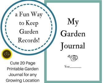 Fun Garden Journal