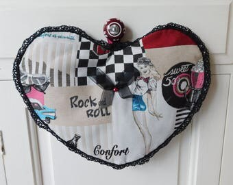 heart lingerie bag or tights rock'n roll