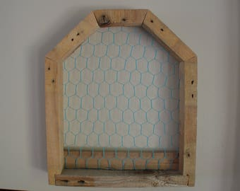 Rustic natural Wood Jewelry / Earring Holder