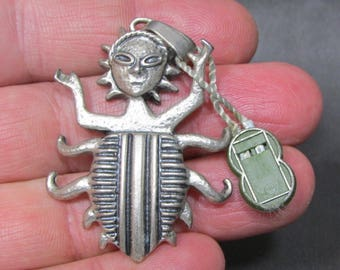 Silver Vintage Pendant 925