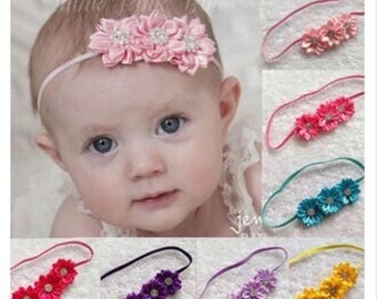 Very Cute Flowers Headband/Headwrap