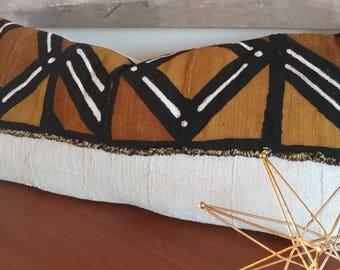 African Mud Cloth Lumbar