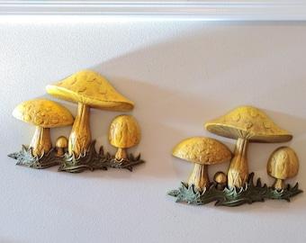 Dart Mushroom Wall Art, 2 Available, Sold Separately