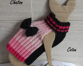 Cotton Baby Sphynx cat sweater