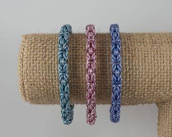 Colourful Byzantine Bracelet