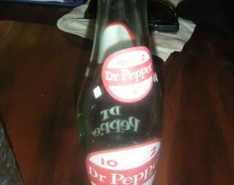 6 pack of vintage  bottles