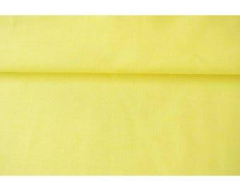 Plain polycotton light yellow