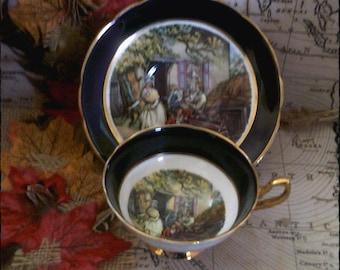 Regency English Bone China Tea Cup and Saucer,  Cups, Black Tea Cups,  Tea Set, Antique Tea Cups, English Teacups