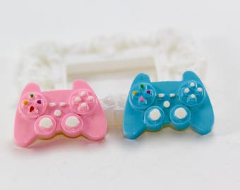 4pc Game Controller Flatback Resin