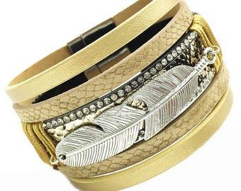 Vegan Leaf Bracelet,Vegan Leather Jewelry,Vegan Jewelry,Vegan Bracelet,Vegan Cuff Bracelet,Faux Leather  Bracelet,Faux Bracelet,Gift for Her