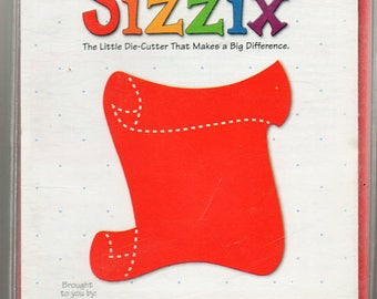 Journal Scroll Sizzix Die Cutter Scrapbook Embellishments Cardmaking Crafts